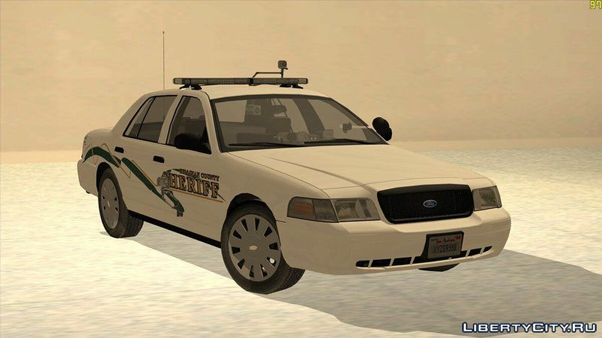 Police car 2009 Ford Crown Victoria
