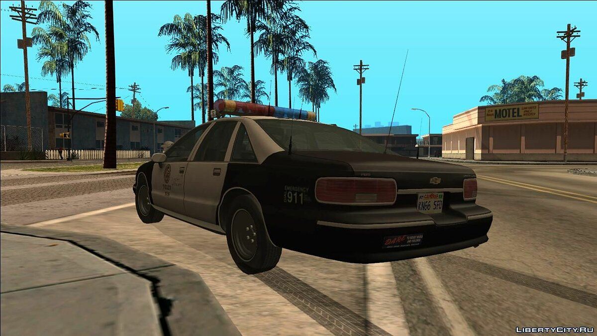 Police car Chevrolet Caprice Marked for GTA San Andreas