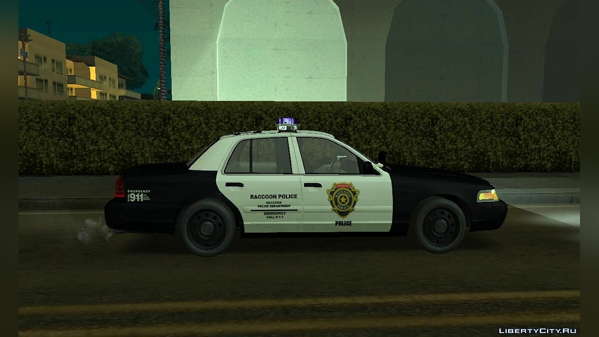 Police car Police Ford from Resident Evil for GTA San Andreas