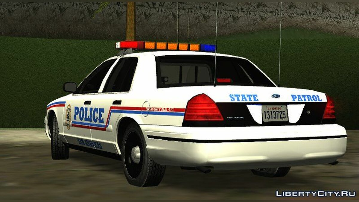 Police car 1999 Ford Crown Victoria San Andreas State Police for GTA San Andreas