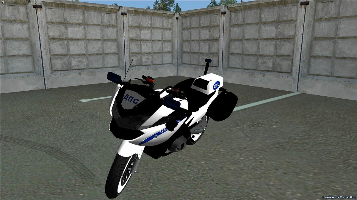 Police car BMW RT1200 - Motorized battalion of traffic police for GTA San Andreas