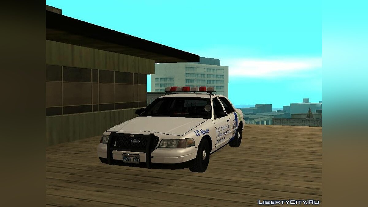 Police car Ford Crown Victoria from GTA 4 for GTA San Andreas
