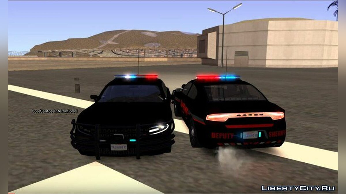Police car Dodge charger lssd for GTA San Andreas