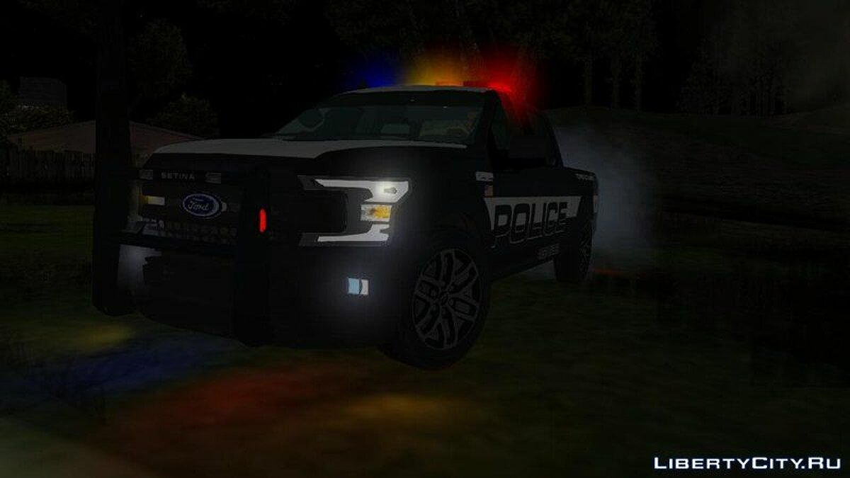 Police car Ford F150 2019 Police Edition for GTA San Andreas