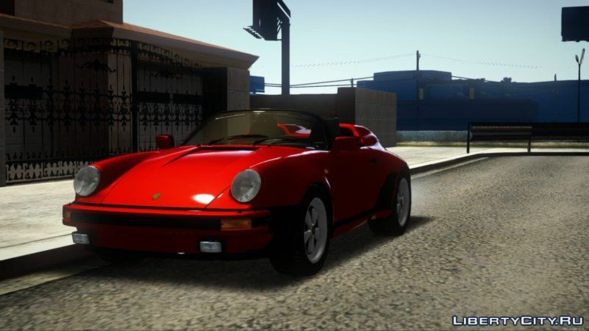 Porsche car Porsche 911 Speedster WTL for GTA San Andreas