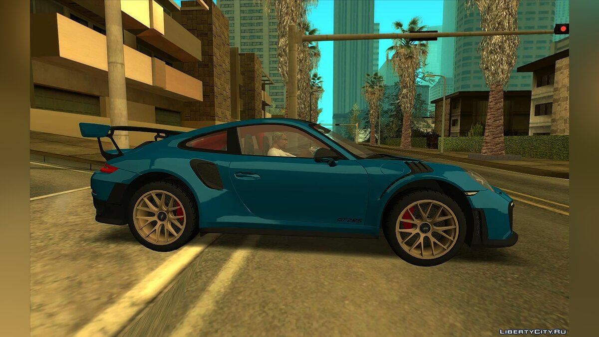 Porsche car Porsche 911 GT2 RS for GTA San Andreas