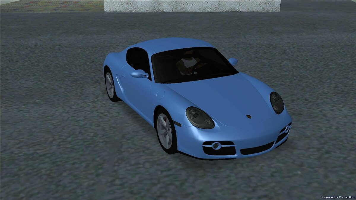 Porsche car 2006 Porsche Cayman S for GTA San Andreas