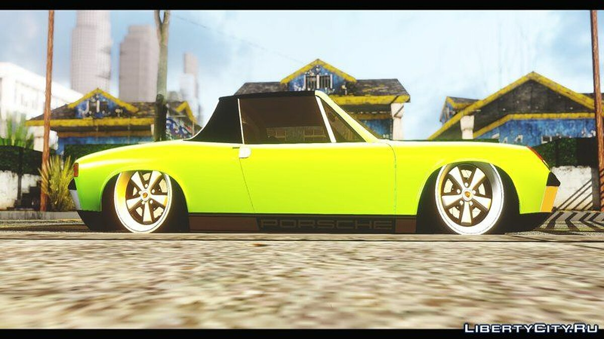 Porsche car Porsche 914 Slammed 1970 for GTA San Andreas