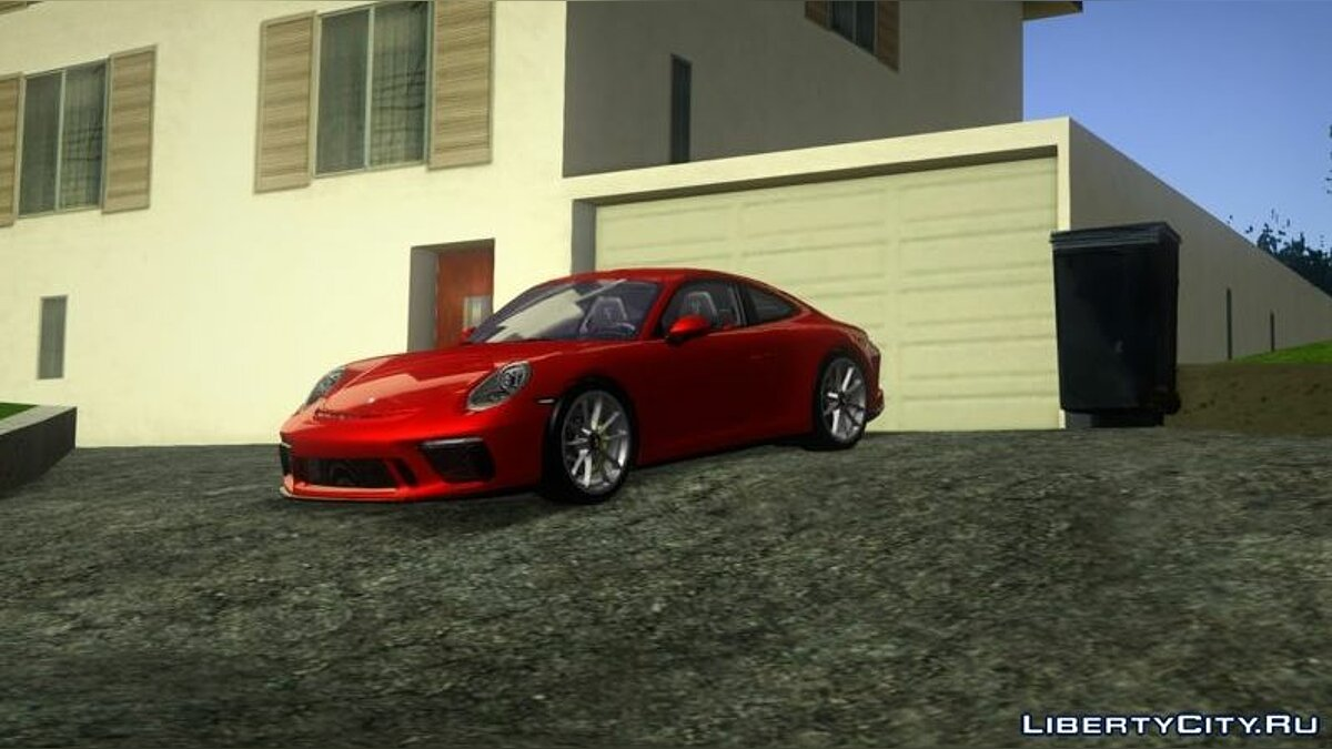 Porsche car Porsche GT3 Touring Package for GTA San Andreas