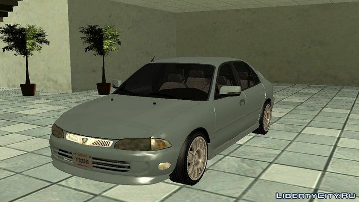 Proton car Proton Wira Aeroback for GTA San Andreas