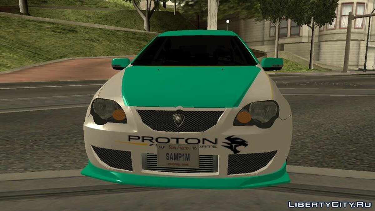 Proton car Proton Persona Elegance Petronas Edition (Replica) for GTA San Andreas