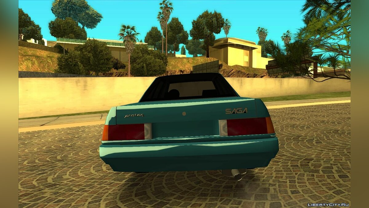 Proton car Proton Saga 1985 for GTA San Andreas