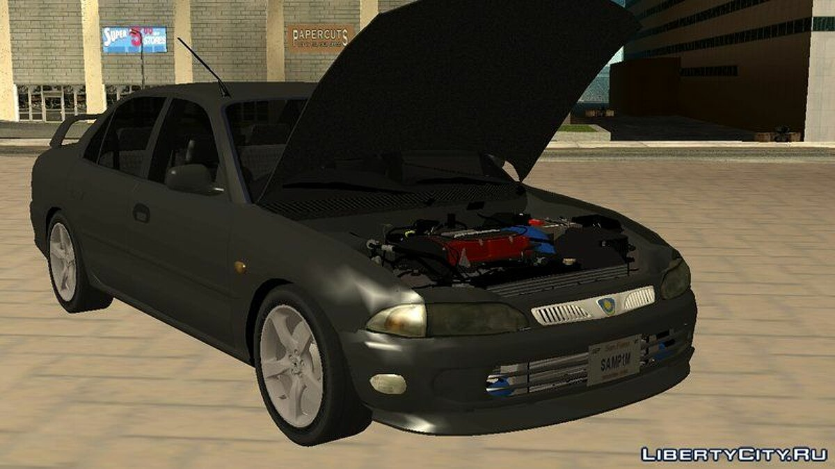 Proton car Proton Wira C99 Limited Edition for GTA San Andreas