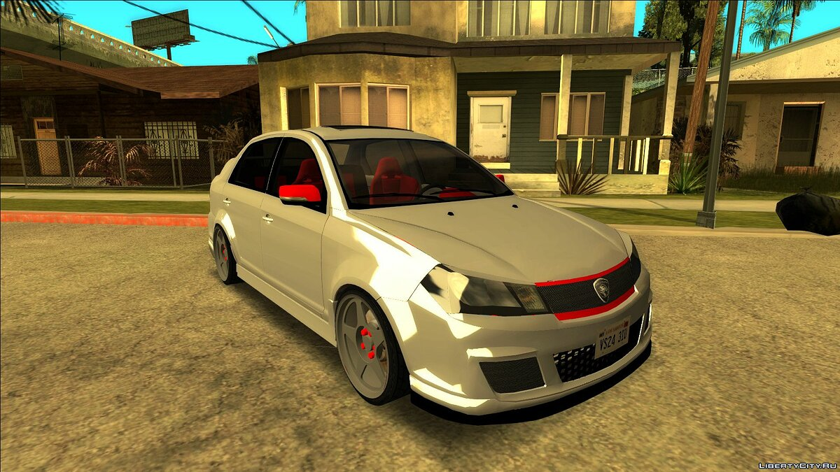 Proton car Proton Saga FLX v4.0 Final Edition for GTA San Andreas