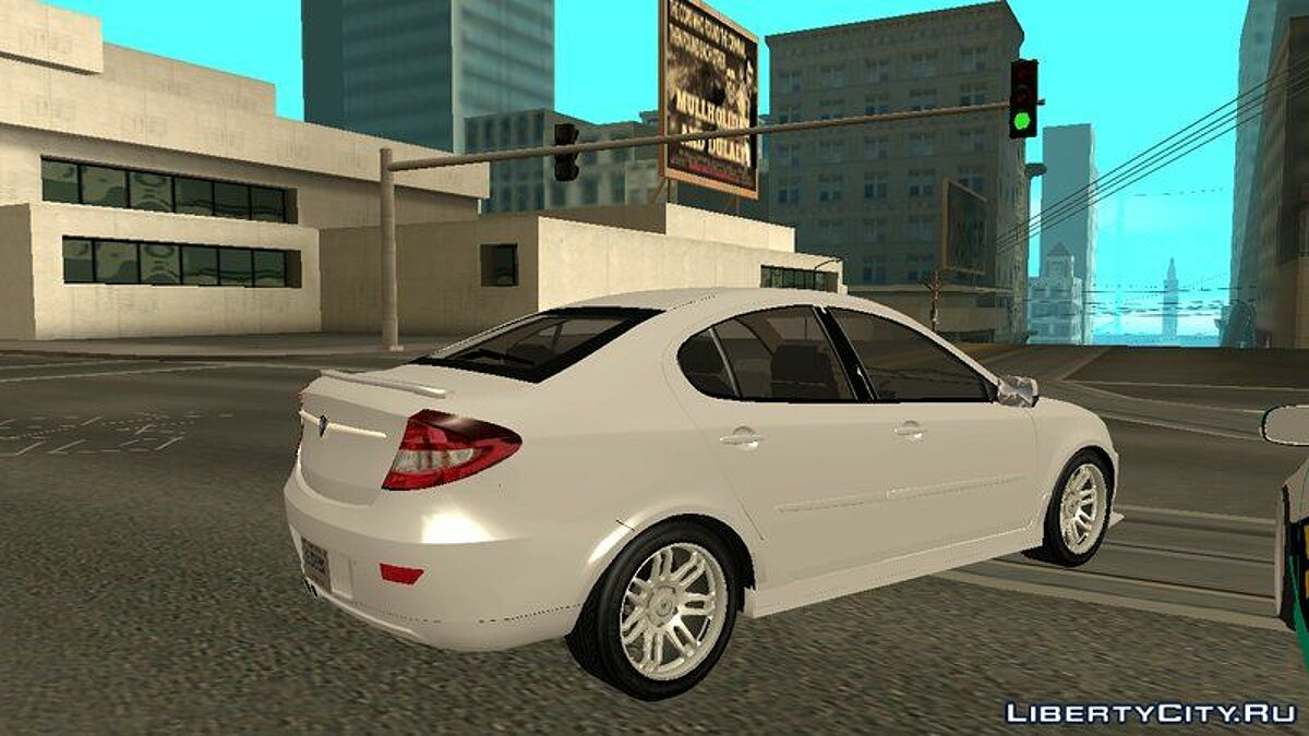 Proton car Proton Persona Elegance 3.0 (Sporty Edition) for GTA San Andreas