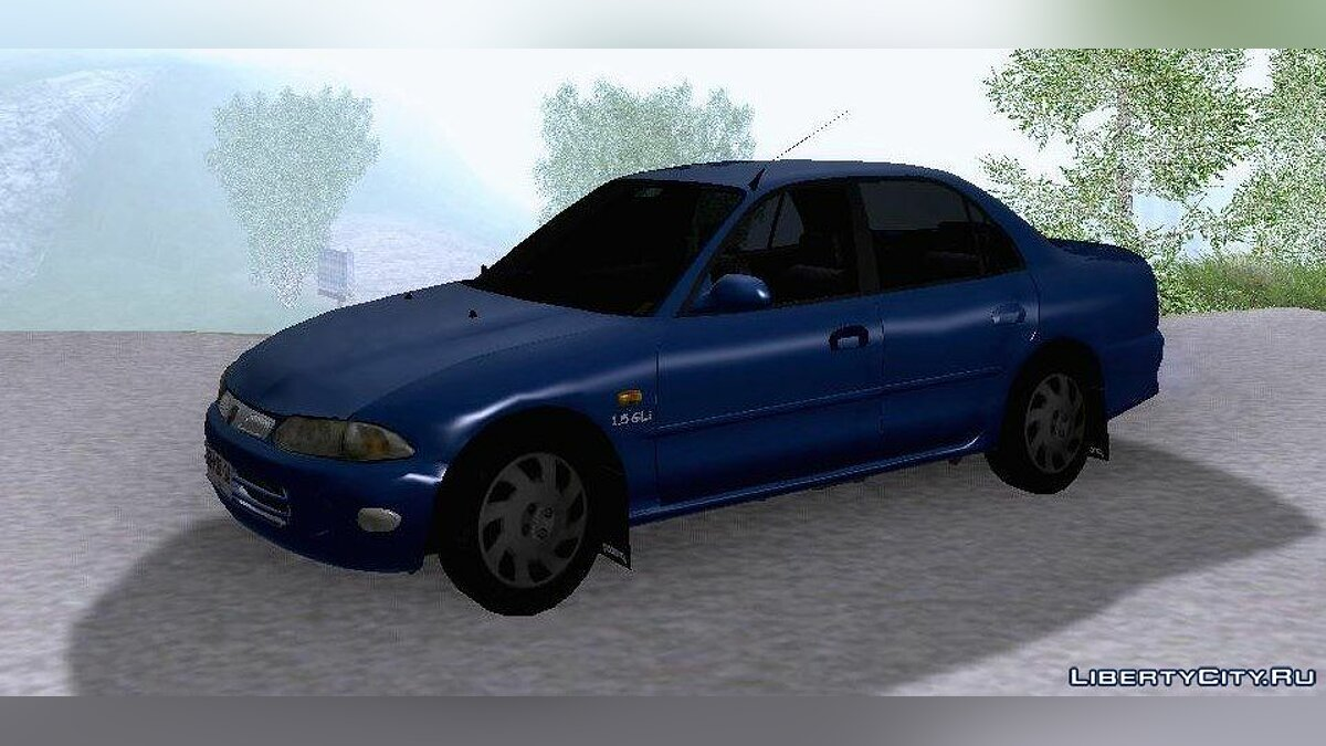 Proton car 1996 Proton Persona 1.5 GLI for GTA San Andreas