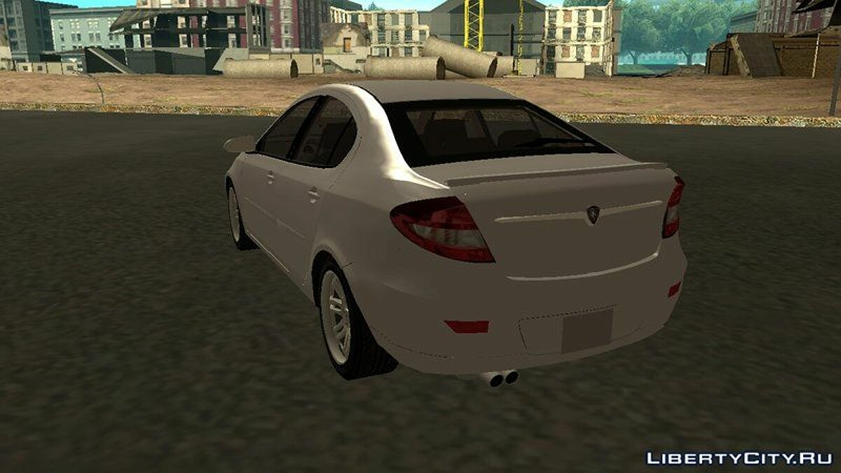 Proton car Proton Persona 2007 v2.0 for GTA San Andreas