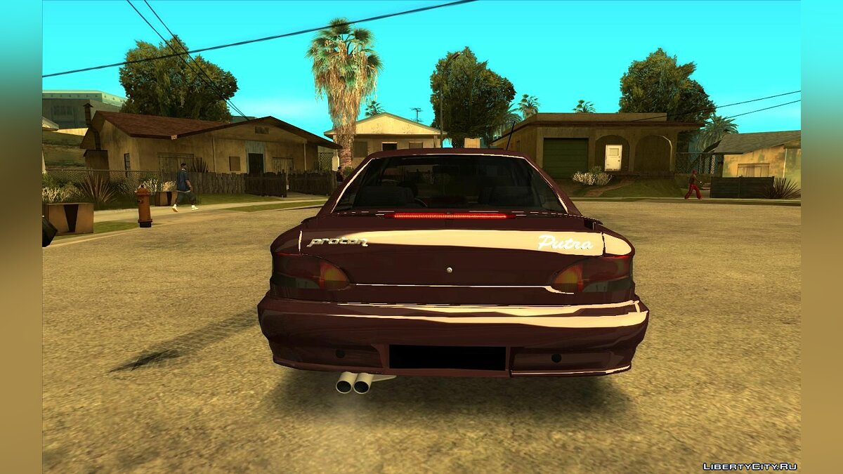 Proton car Proton Putra 2004 (Edition Asti 2 dog) for GTA San Andreas