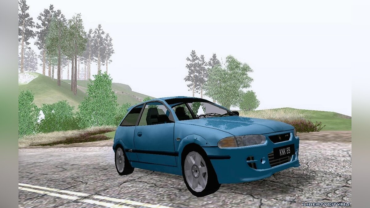 Proton car Proton Satria GTi for GTA San Andreas