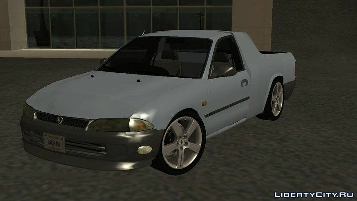 Proton car Proton Wira Pickup (Picador Based) for GTA San Andreas