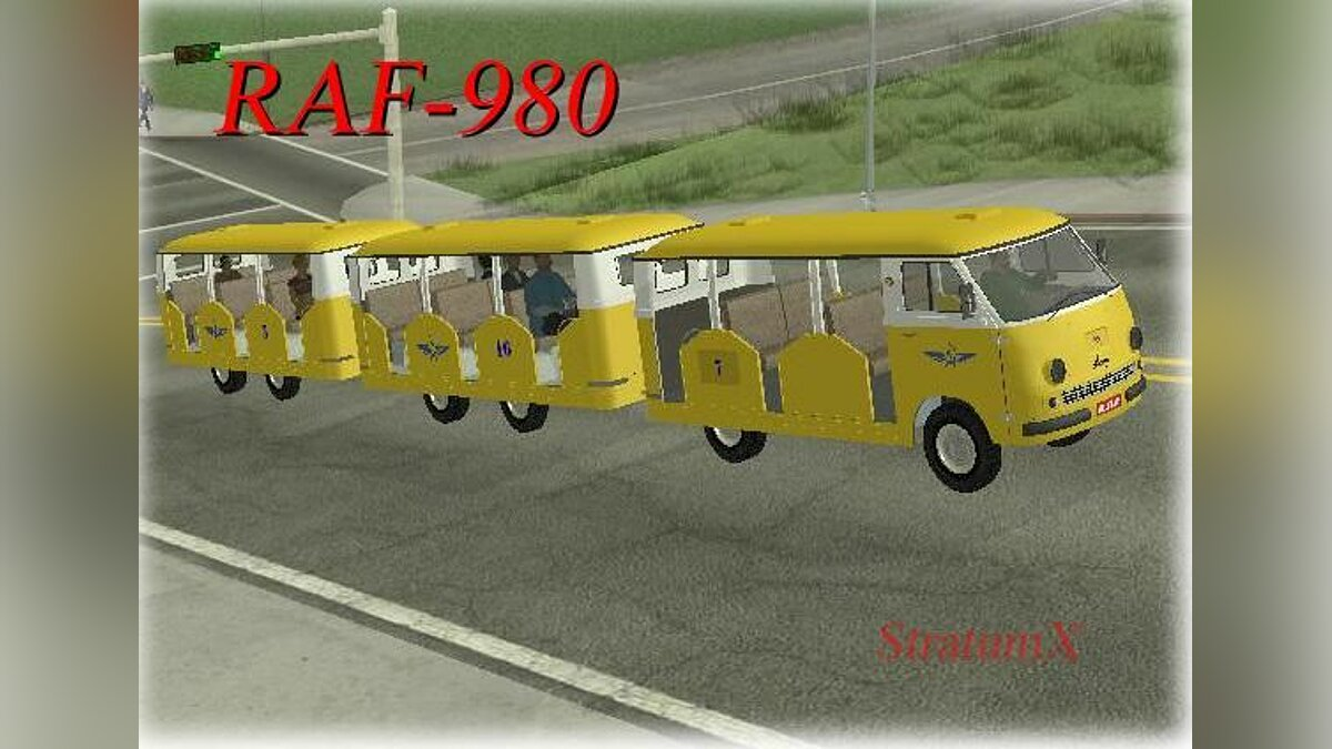 RAF car RAF-980 for GTA San Andreas