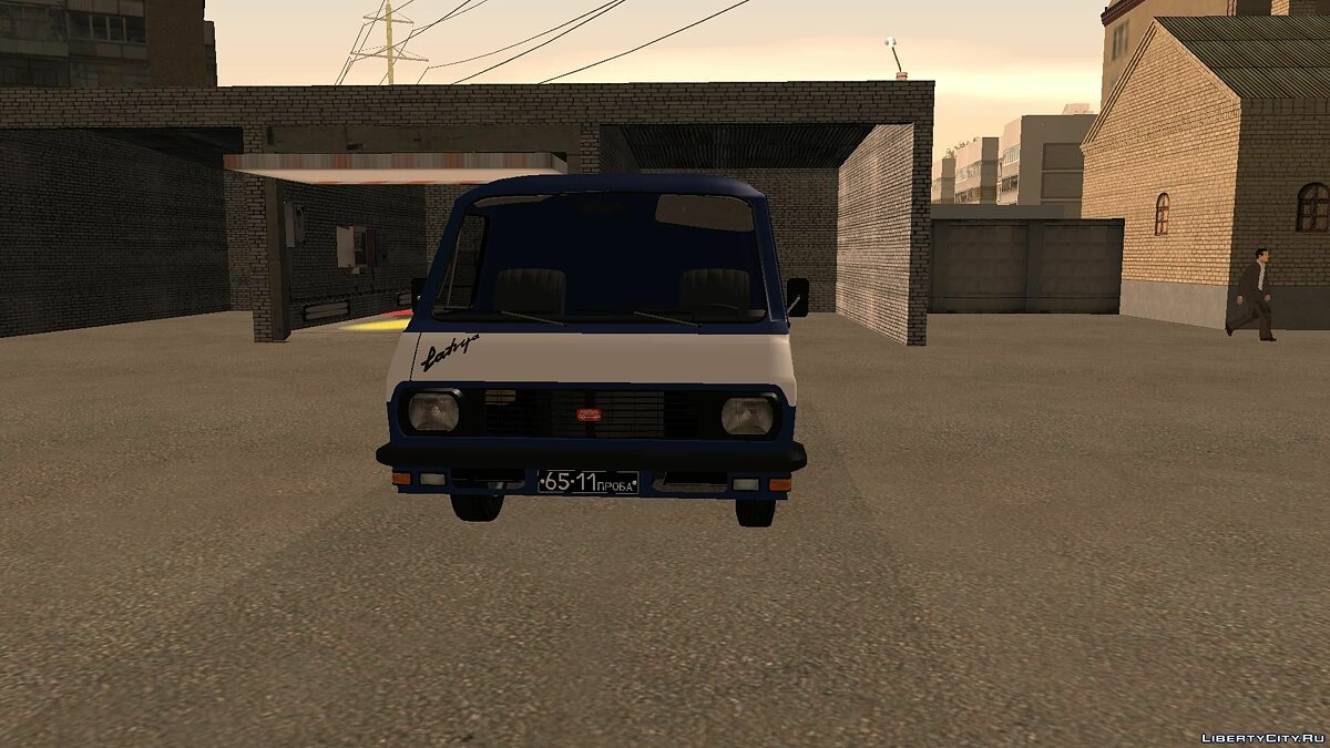 RAF car RAF 2916 for GTA San Andreas