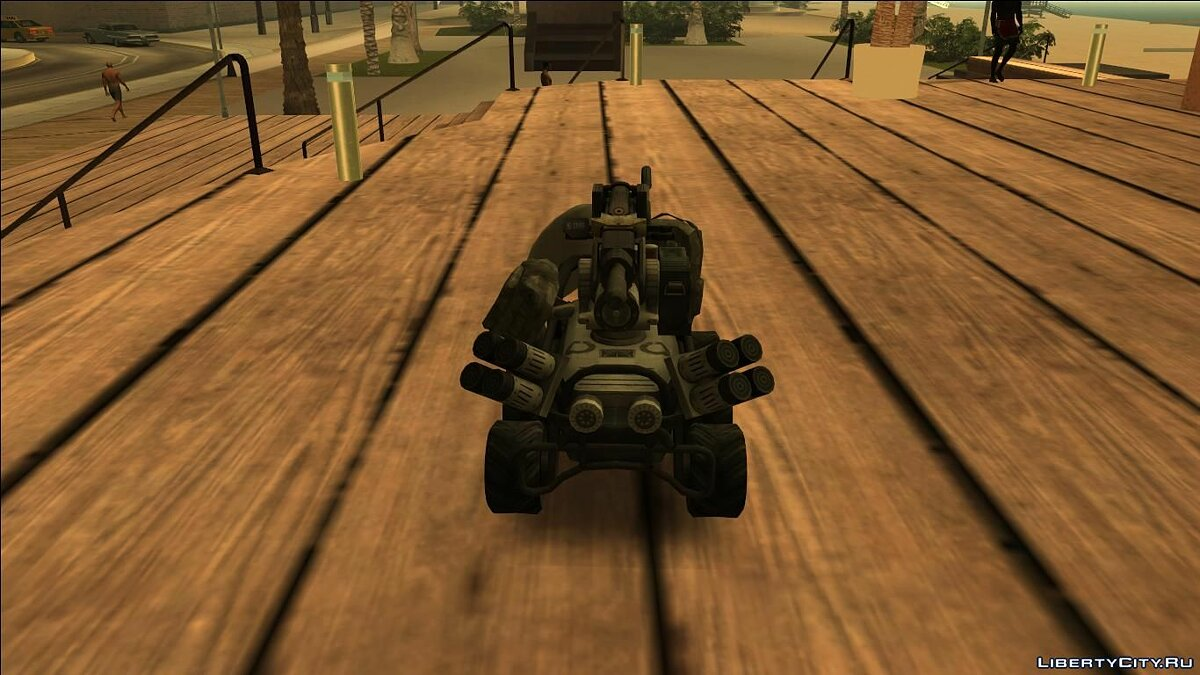 RC Car Mobile Turret From Titan Fall for GTA San Andreas
