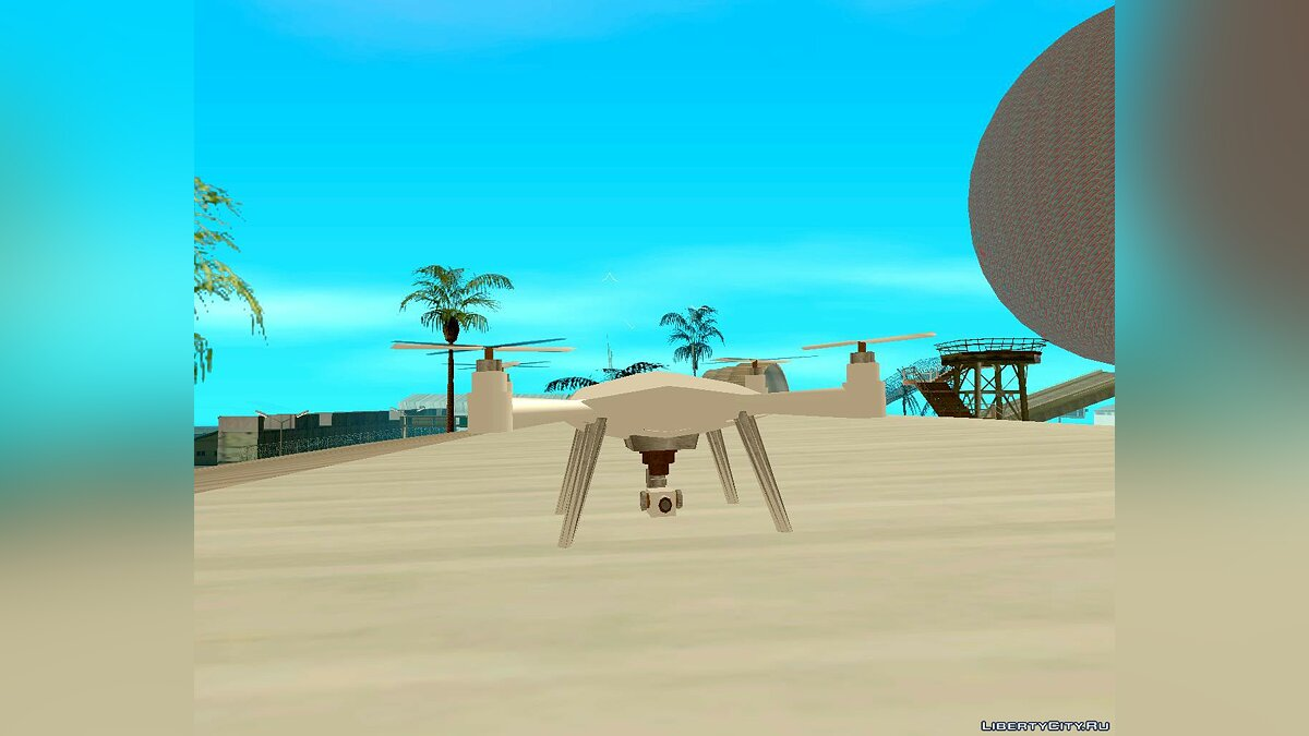 RC Car Drone for GTA San Andreas