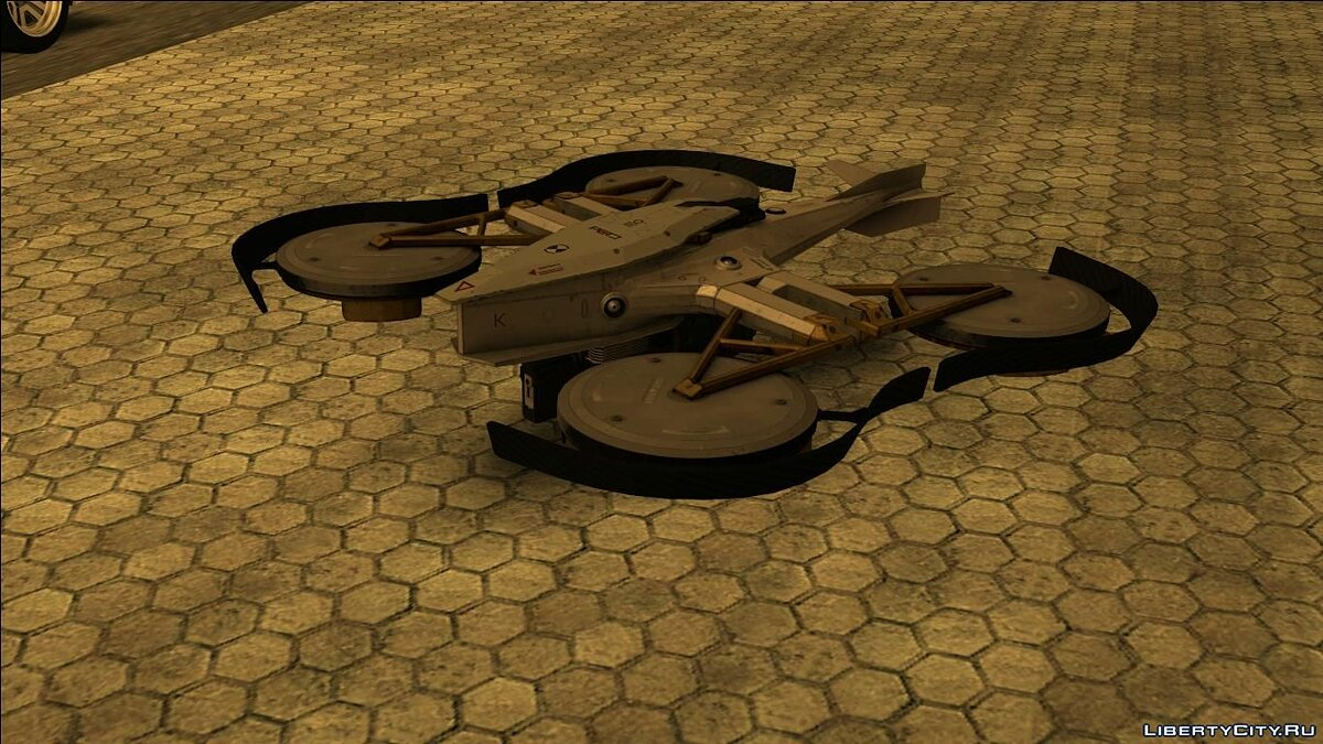 RC Car Drone mod for GTA San Andreas
