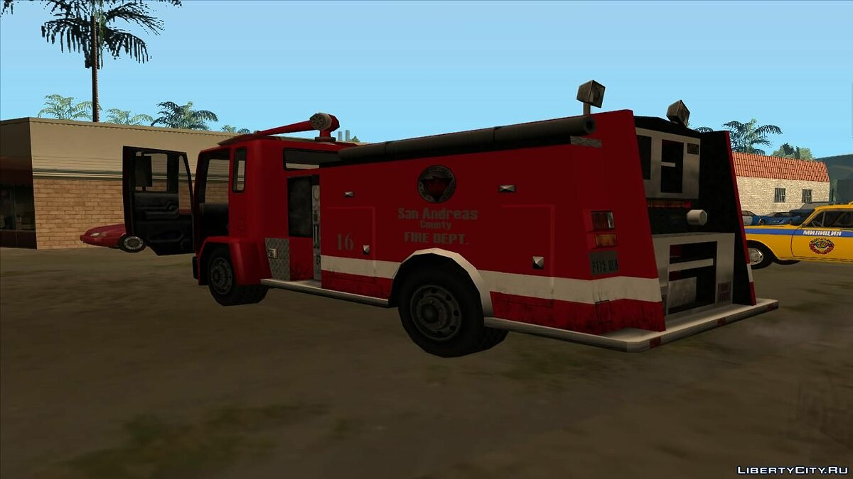 Cars DFT Fire Truck for GTA San Andreas
