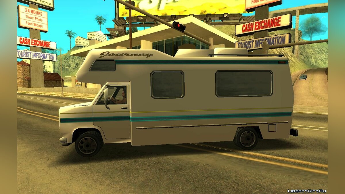 Cars Zirconium journey for GTA San Andreas