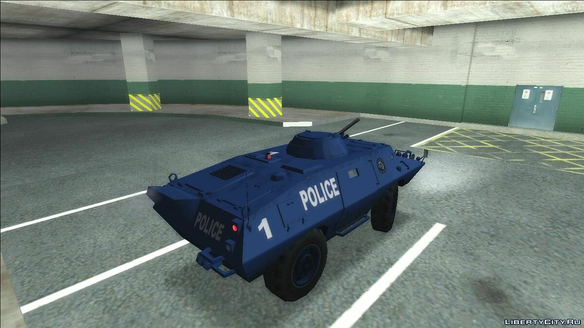 Cars Improved S.W.A.T. Van for GTA San Andreas