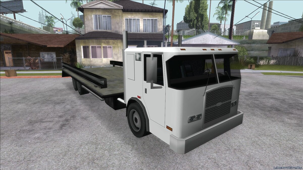Cars DFT-30 Towtruck for GTA San Andreas