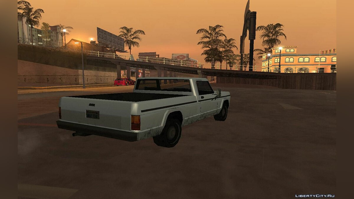 Cars Sadler restyled for GTA San Andreas