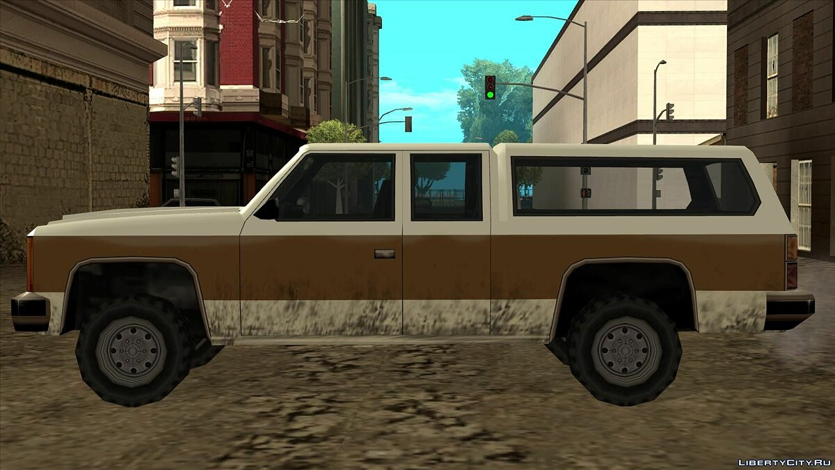 Cars 4-seater Rancher for GTA San Andreas