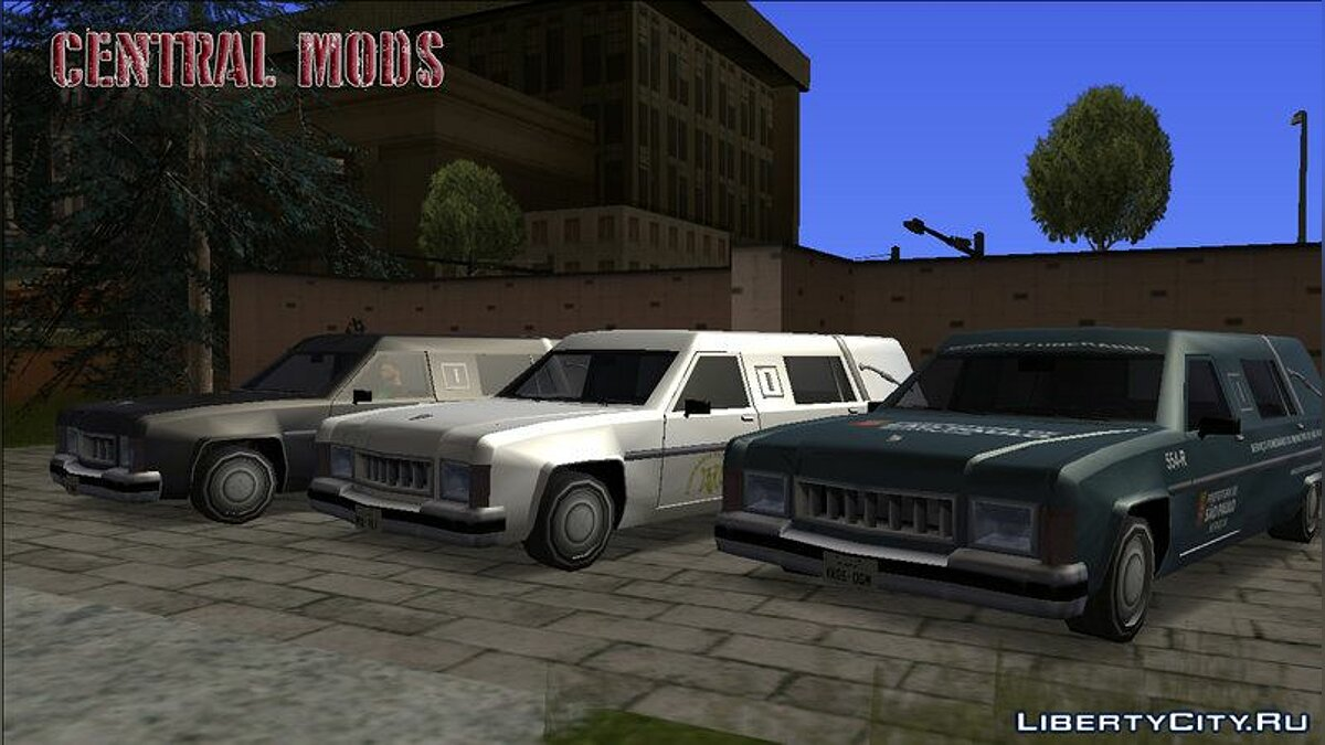 Cars Romero - Funerary - TCGTABR for GTA San Andreas