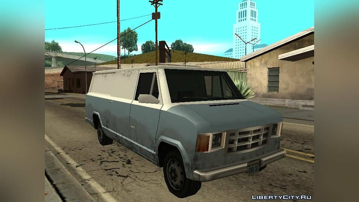 Cars New Vans - 5 new vans for GTA San Andreas