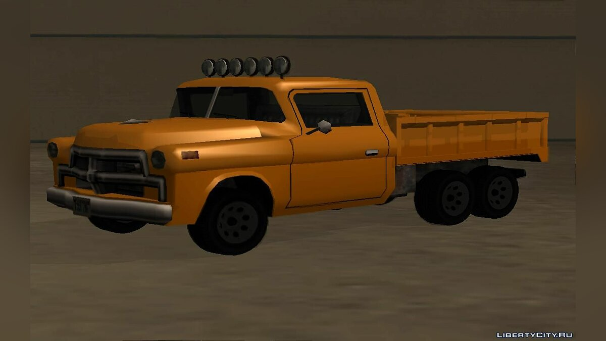Cars Walton 6x6 for GTA San Andreas