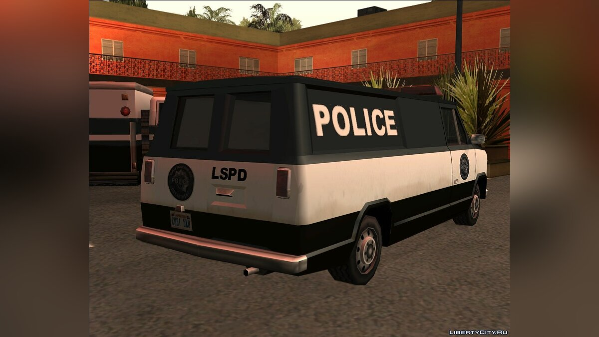 Cars Police transparent for GTA San Andreas