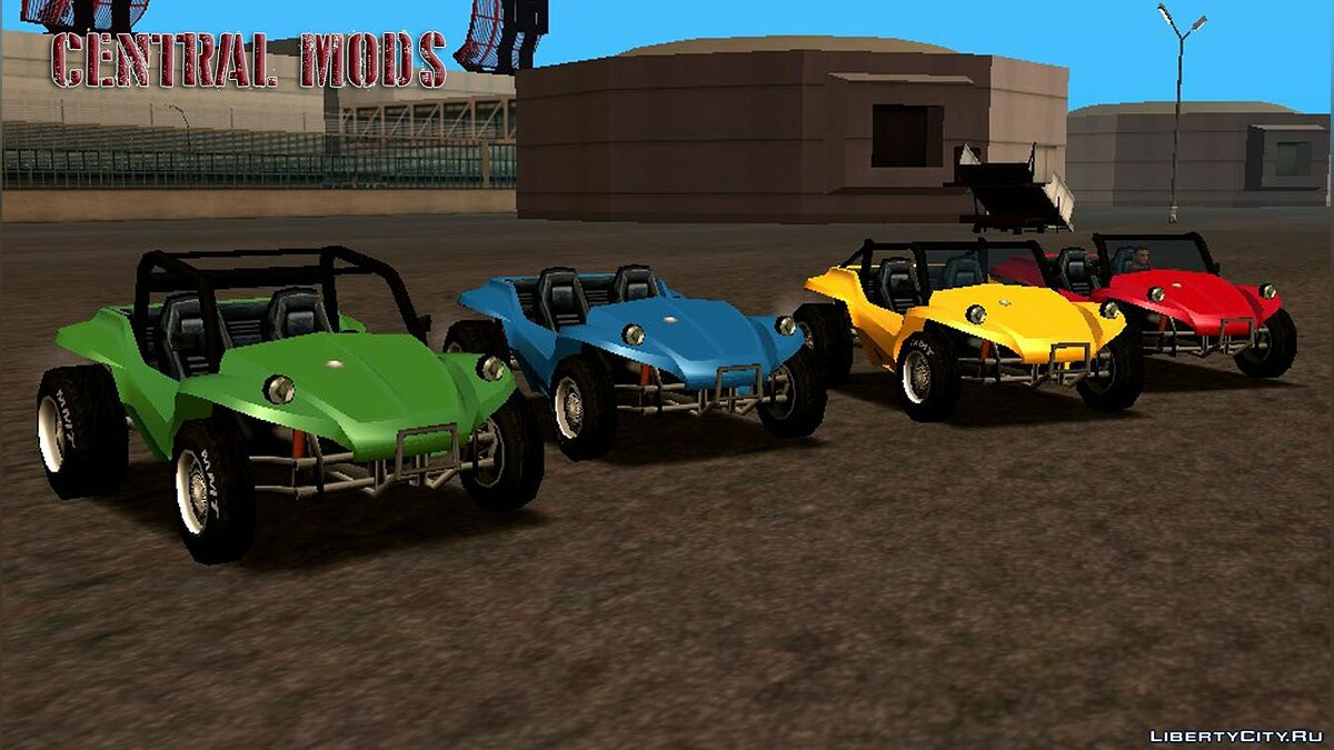 Cars BF Injection (Edition: Buggy Brm 1983) for GTA San Andreas