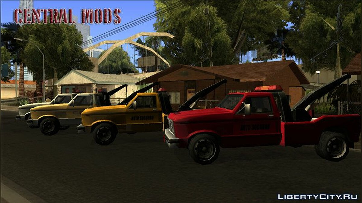 Cars Towtruck - Guincho - TCGTABR for GTA San Andreas