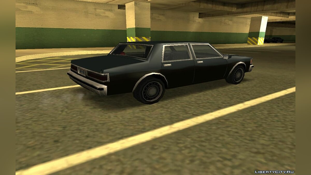 Cars Declasse Brigham FBI for GTA San Andreas