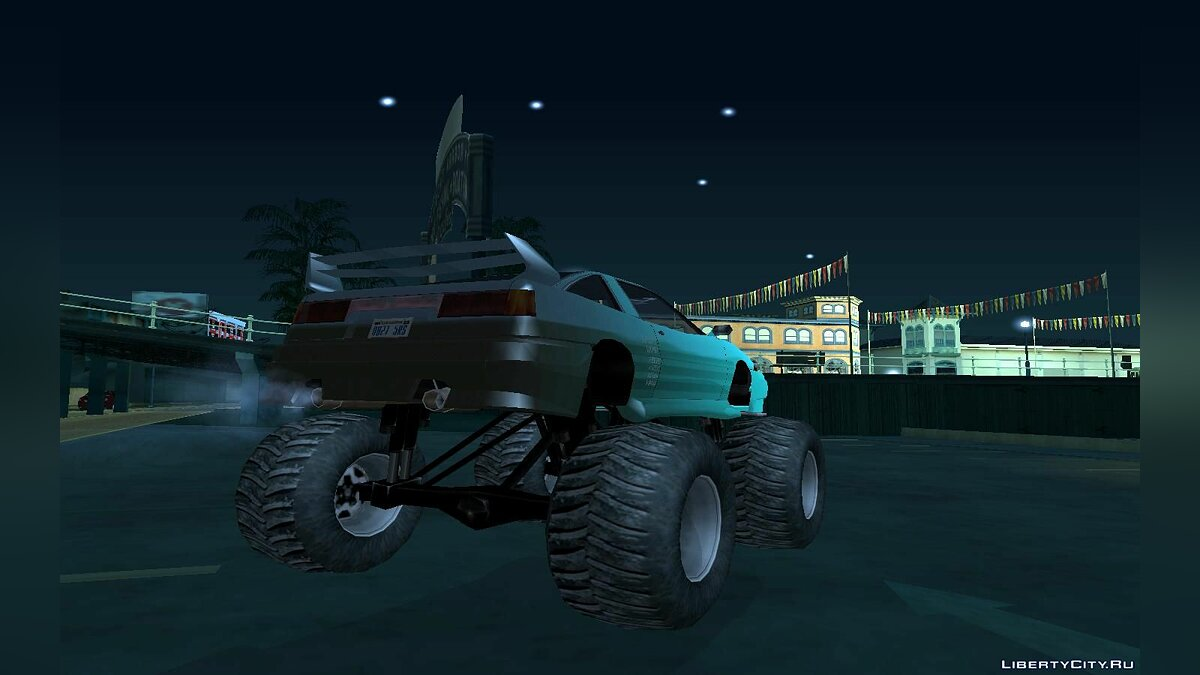 Cars Tuned uranus monster for GTA San Andreas