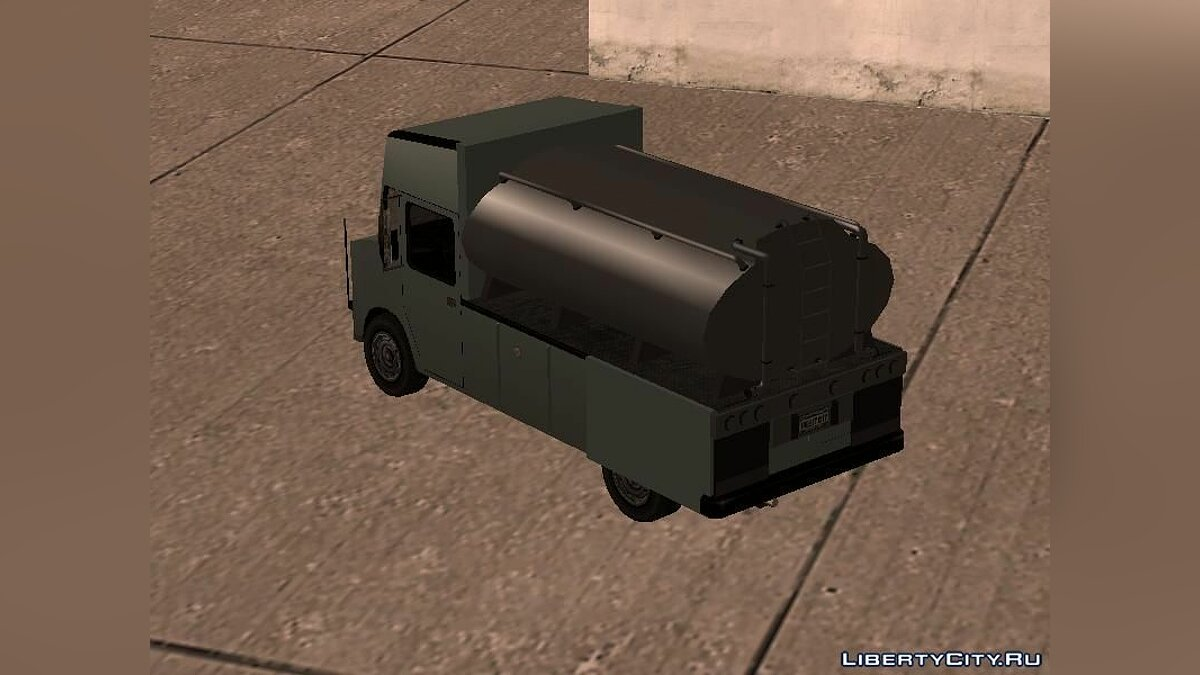 Cars Tanker Boxville for GTA San Andreas