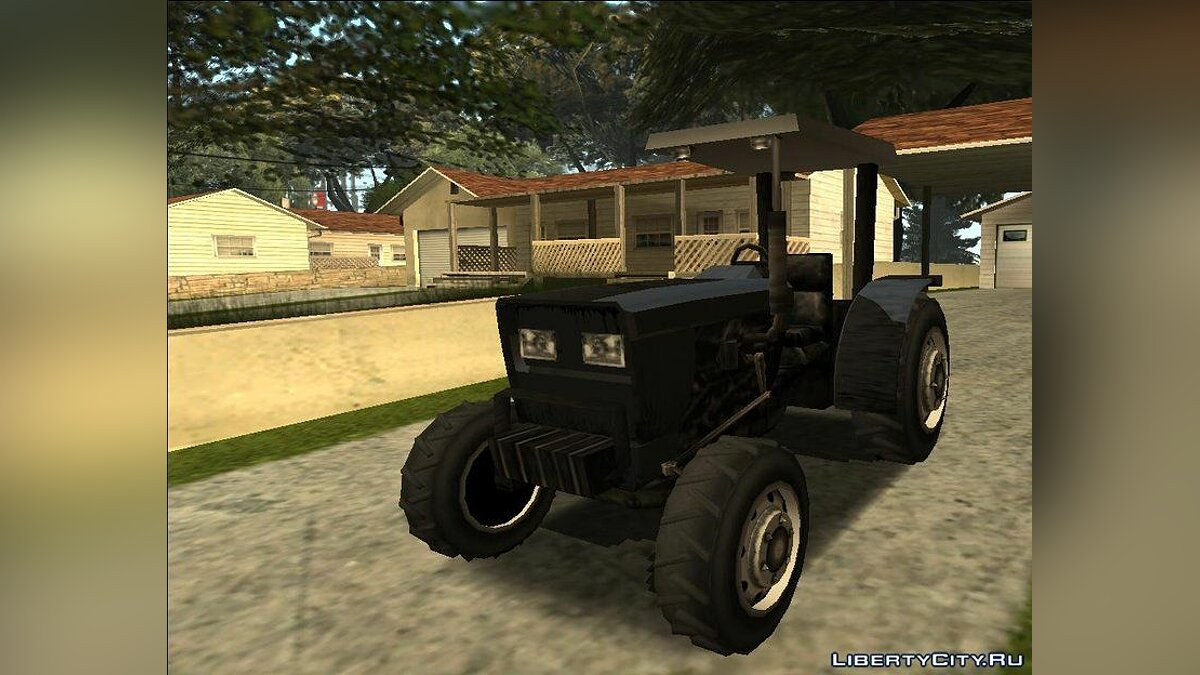 Cars Modern Tractor for GTA San Andreas