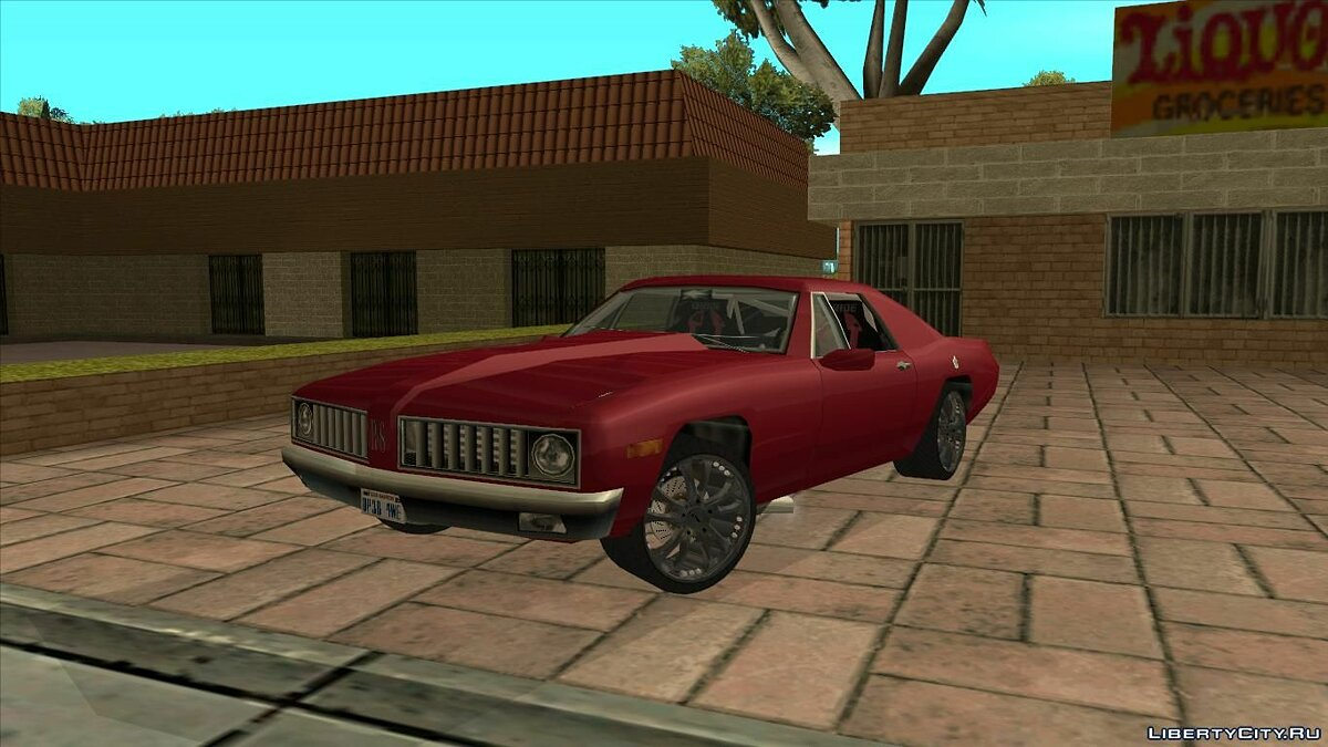 Cars Stallion RS for GTA San Andreas