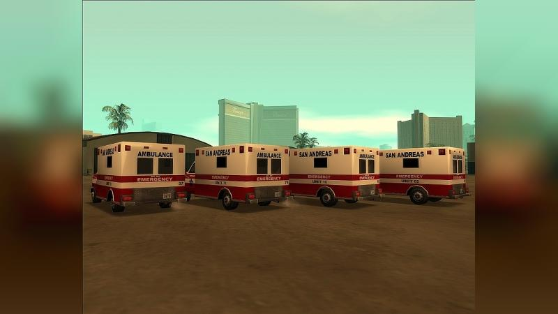 Cars Fixed Ambulance for GTA San Andreas