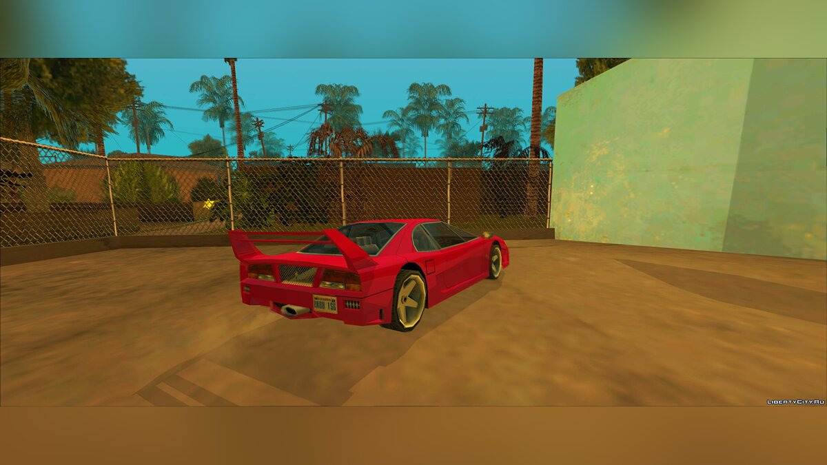 Cars Turismo Update for GTA San Andreas