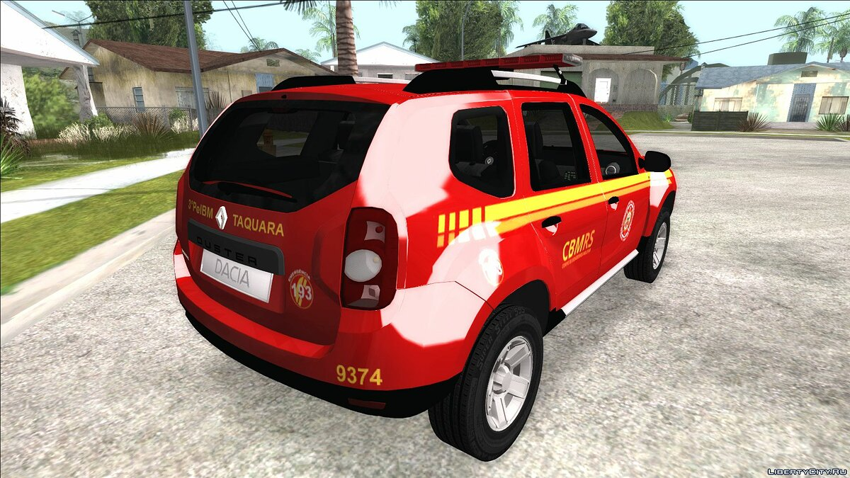 Renault car Renault Duster (Taquara) for GTA San Andreas