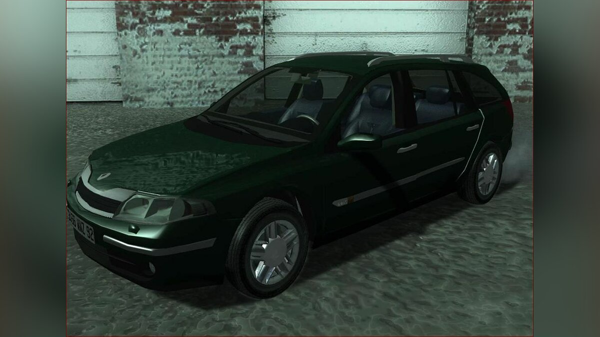 Renault laguna II 2.2dCi for GTA San Andreas - Картинка #1